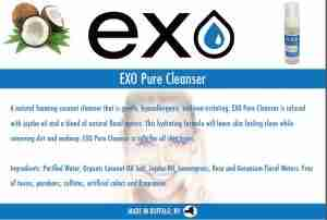 exo pure cleanser brochure image